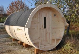 Finkota Sauna von vorne