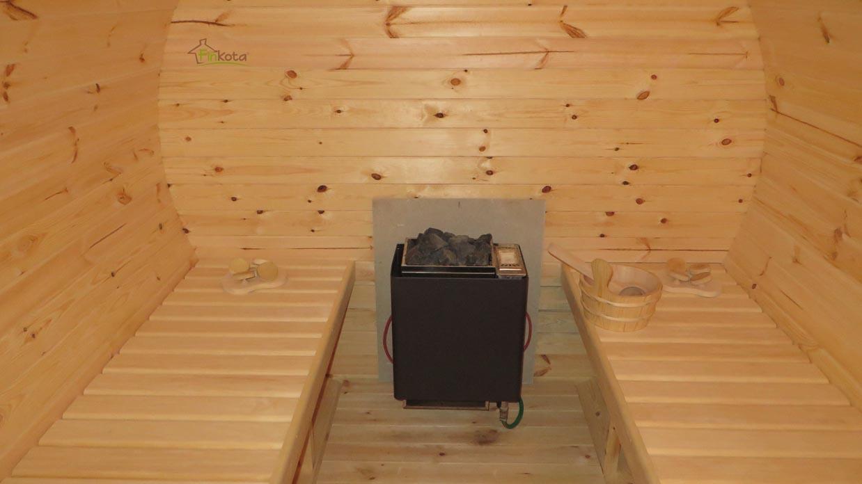 elektrischer Saunaofen mit Verdampfer