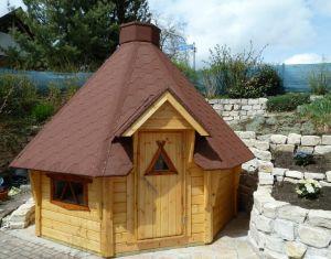 Timapuu Luxusgrillhütte 9,9 m2