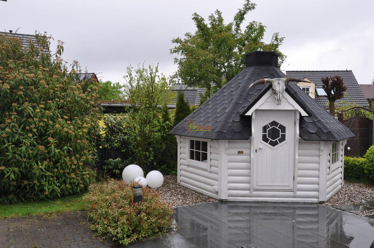 Finkota Grillhütte 9.2 m2 weiss