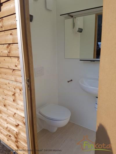 Duo Eingang mit WC