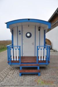 Wattenkieker Eingang mit Terrasse